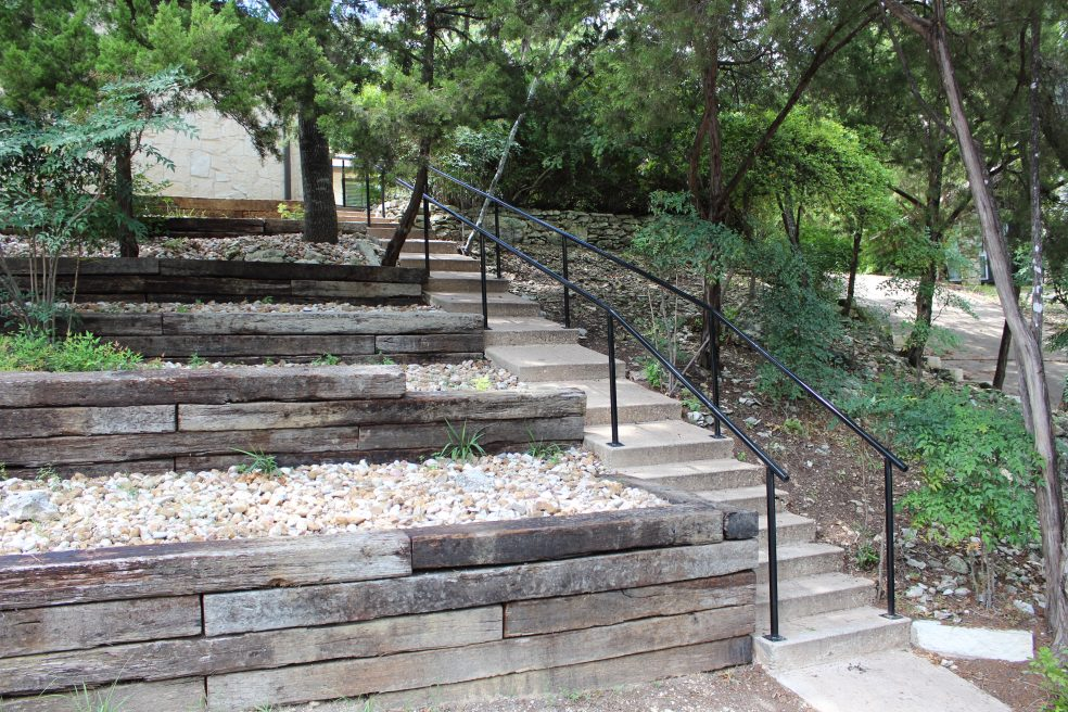 After Picture Capital City Gates - Pipe Handrail Project - Austin TX 78731